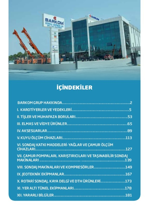 Barkom Genel Katalog