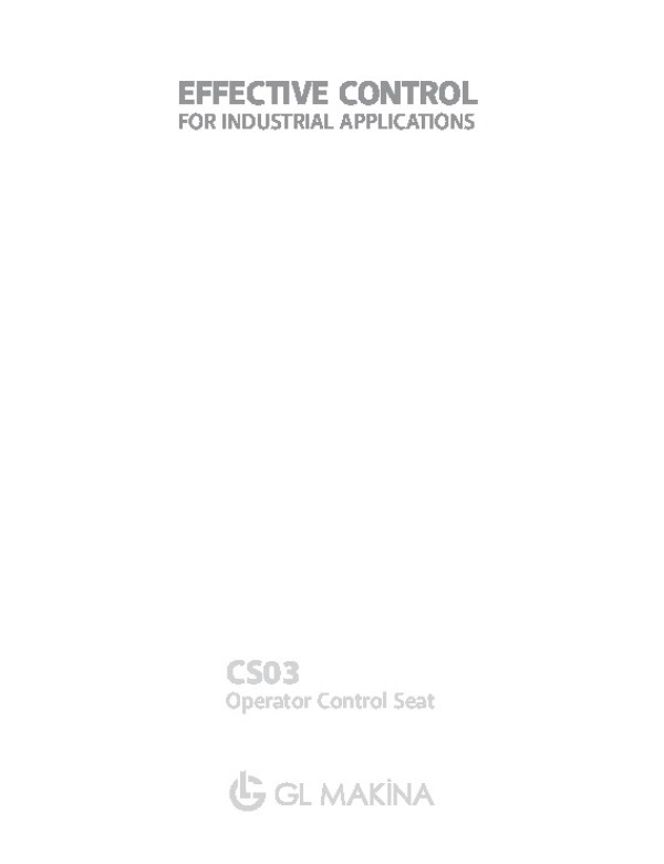 CS03 Crane-Control