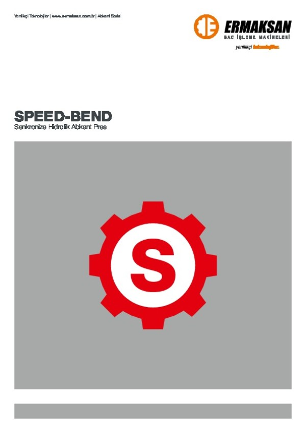 SPEED-BEND - Senkronize Hidrolik Abkant Pres
