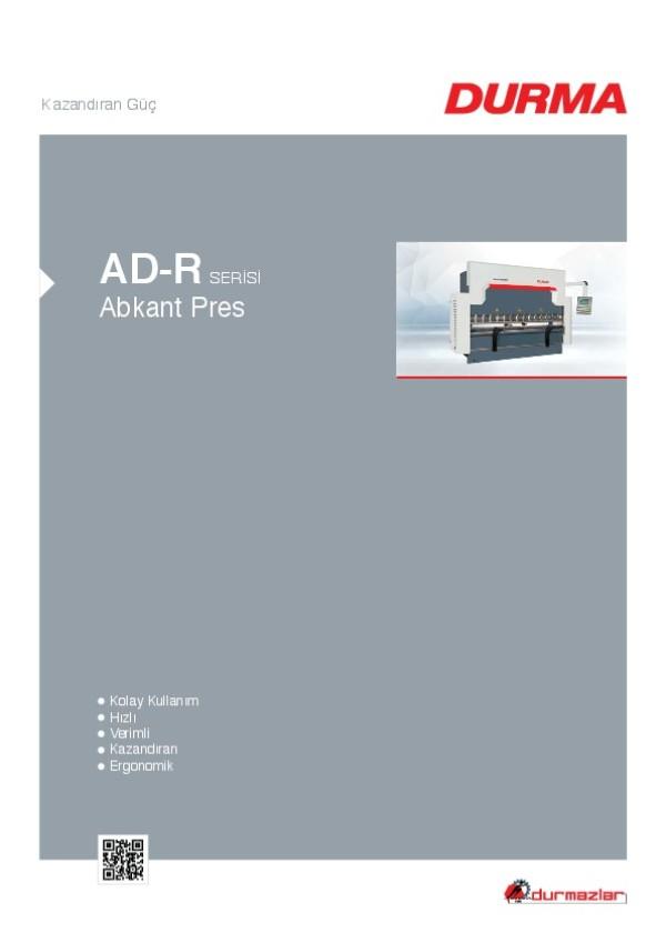 AD-R Serisi Abkant Pres
