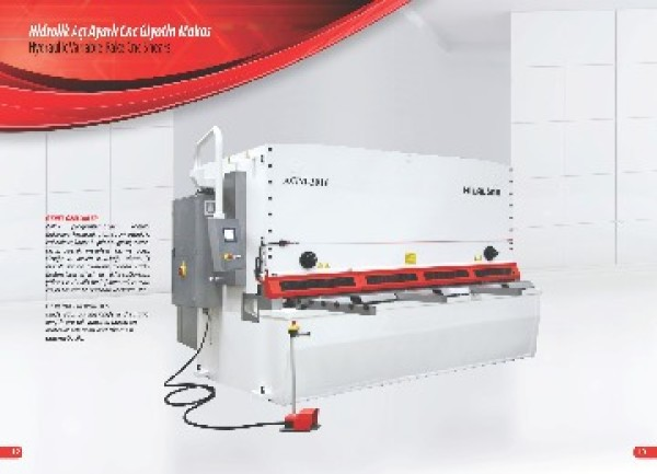 Cnc Hidrolik AGM Serisi