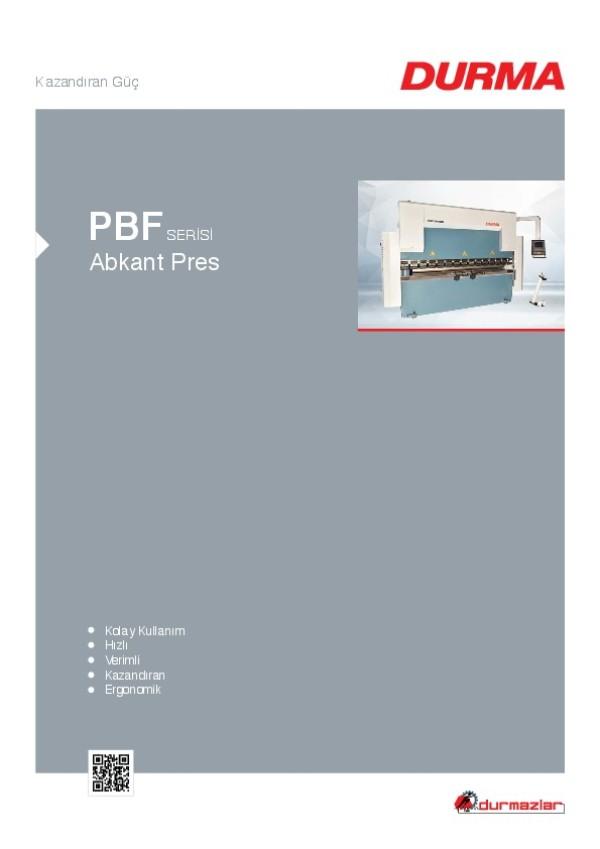 PBF Serisi Abkant Pres