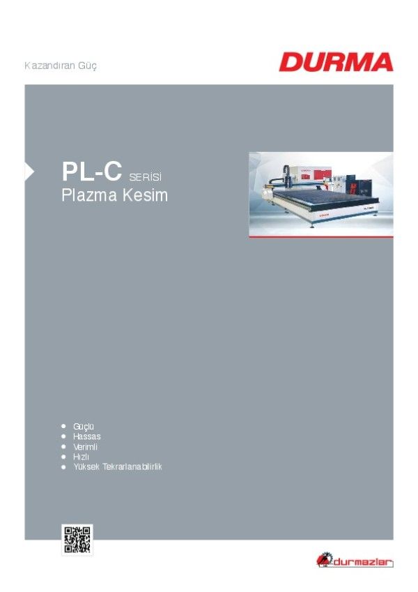 PL-C Serisi Plazma Kesim