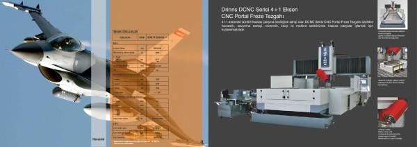 4+1 Eksen CNC Portal Freze Tezgahı