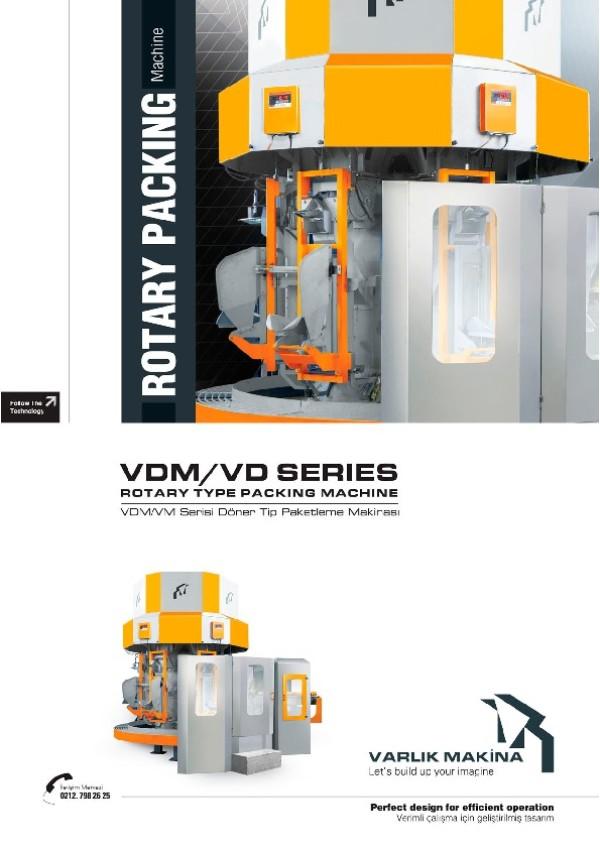 VDM/ VD Serisi Döner Tip Paketleme Makinesi