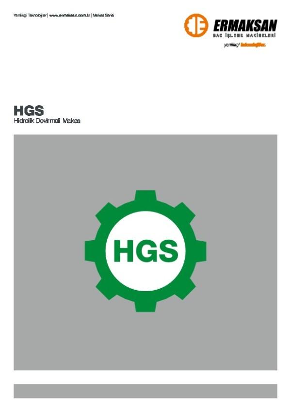 HGS - Hidrolik Devirmeli Makas