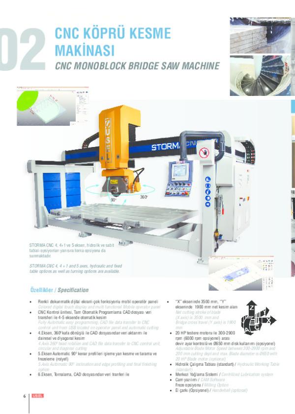 CNC Köprü Kesme Makinesi