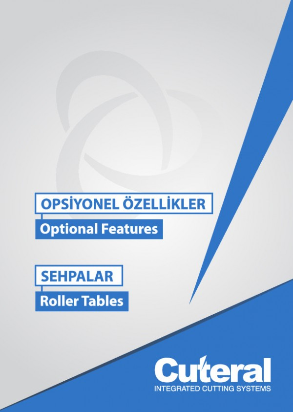Opsyonel Özellikler - Sehpalar