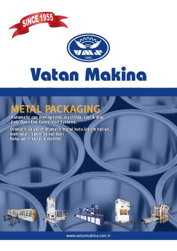 Metal Kutulama Makinaları