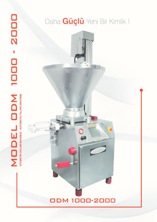 ODM 1000/2000 Automatik Dolum