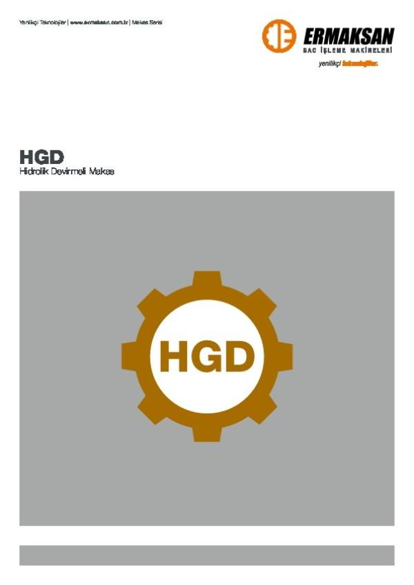 HGD - Hidrolik Devirmeli Makas