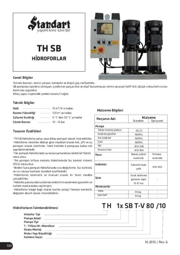 TH SB Hidroforlar