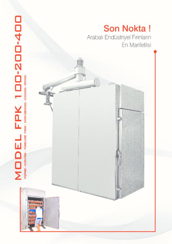 FPK 50/100/200/400 Pişirme Kurutma Haşlama Fırını