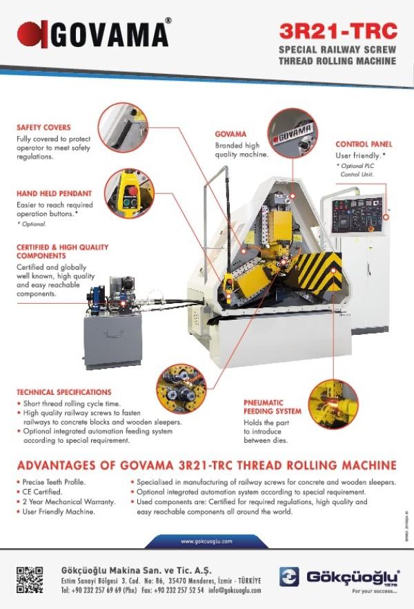 3R21-TRC Özel Ovalama Makinesi