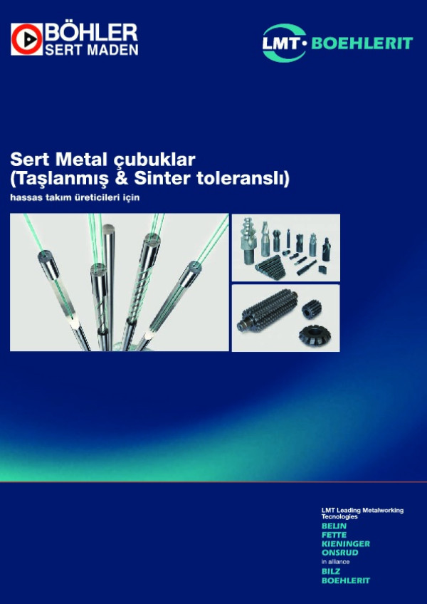 Sert Metal Çubuklar Katalog