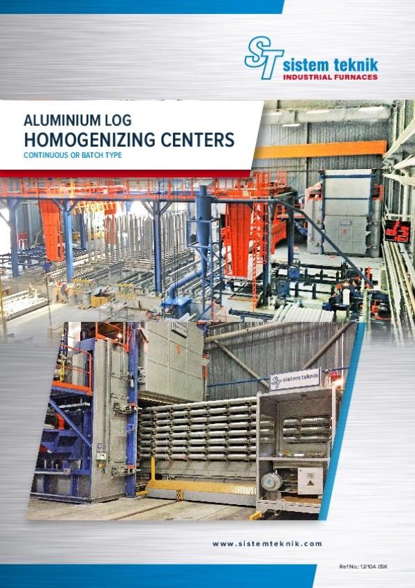 Alüminyum Kütük Homojenizasyon Fırınları